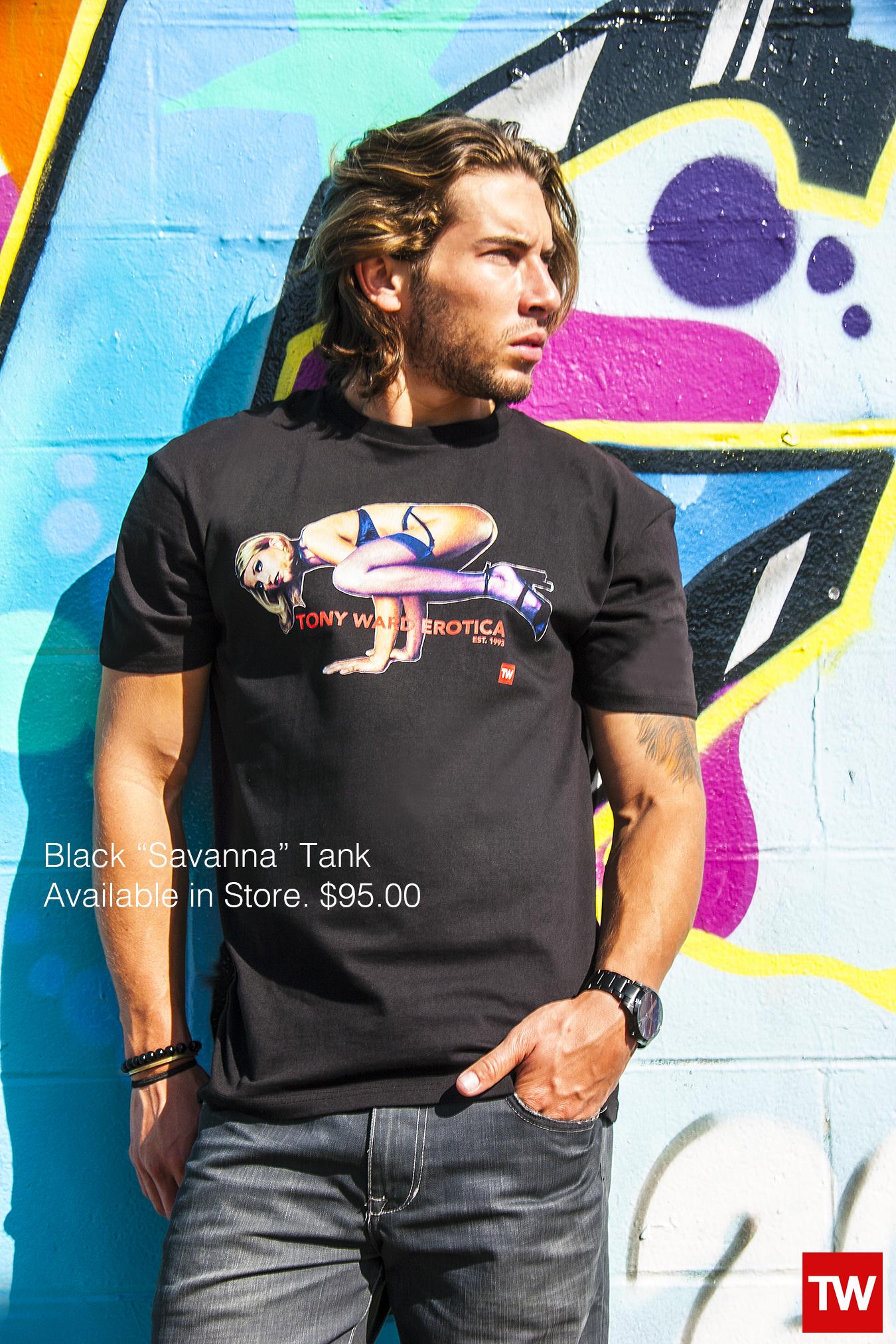 Tony_Ward_Studio_e_commerce_store_t-shirts_black_Savanna_tee_sale_model_Luis