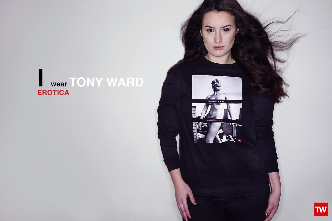 Tony_Ward_Studio_e-commerce_store_t-shirts_I_wear_erotica-model_Christina