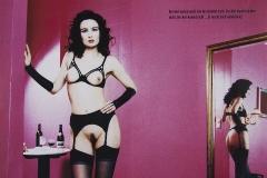 Tony_Ward_erotic_photography_German_Penthouse_magazine_model_Model_Simone_Degeneaux_location_Hotel_Village_Hamburg_Centrum_nude_fetish_wear_red_wine_seduction