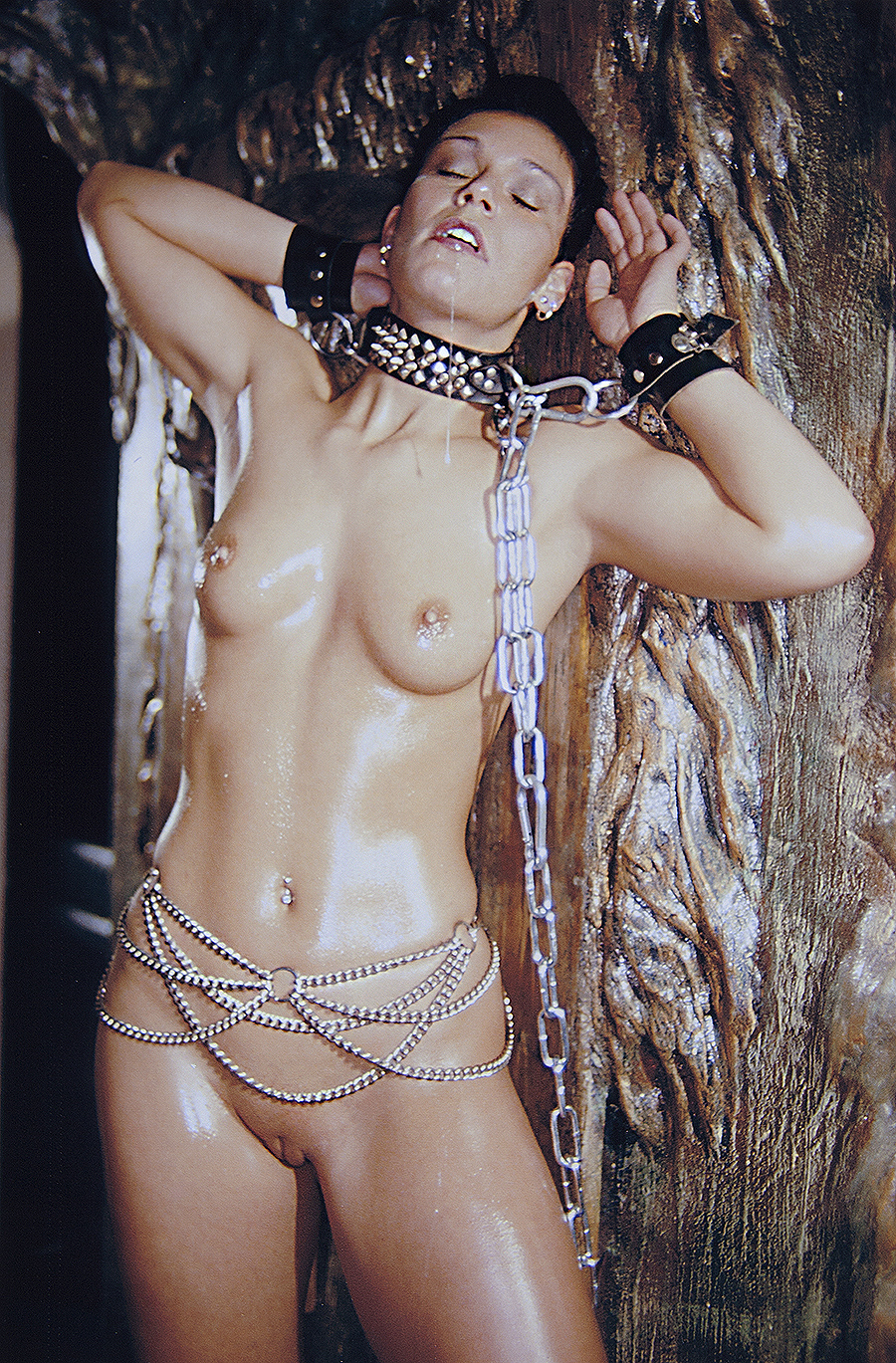 Tony_Ward_erotica_fetish_throwup_chains_dungeon_model_german_hamburg_chain_band