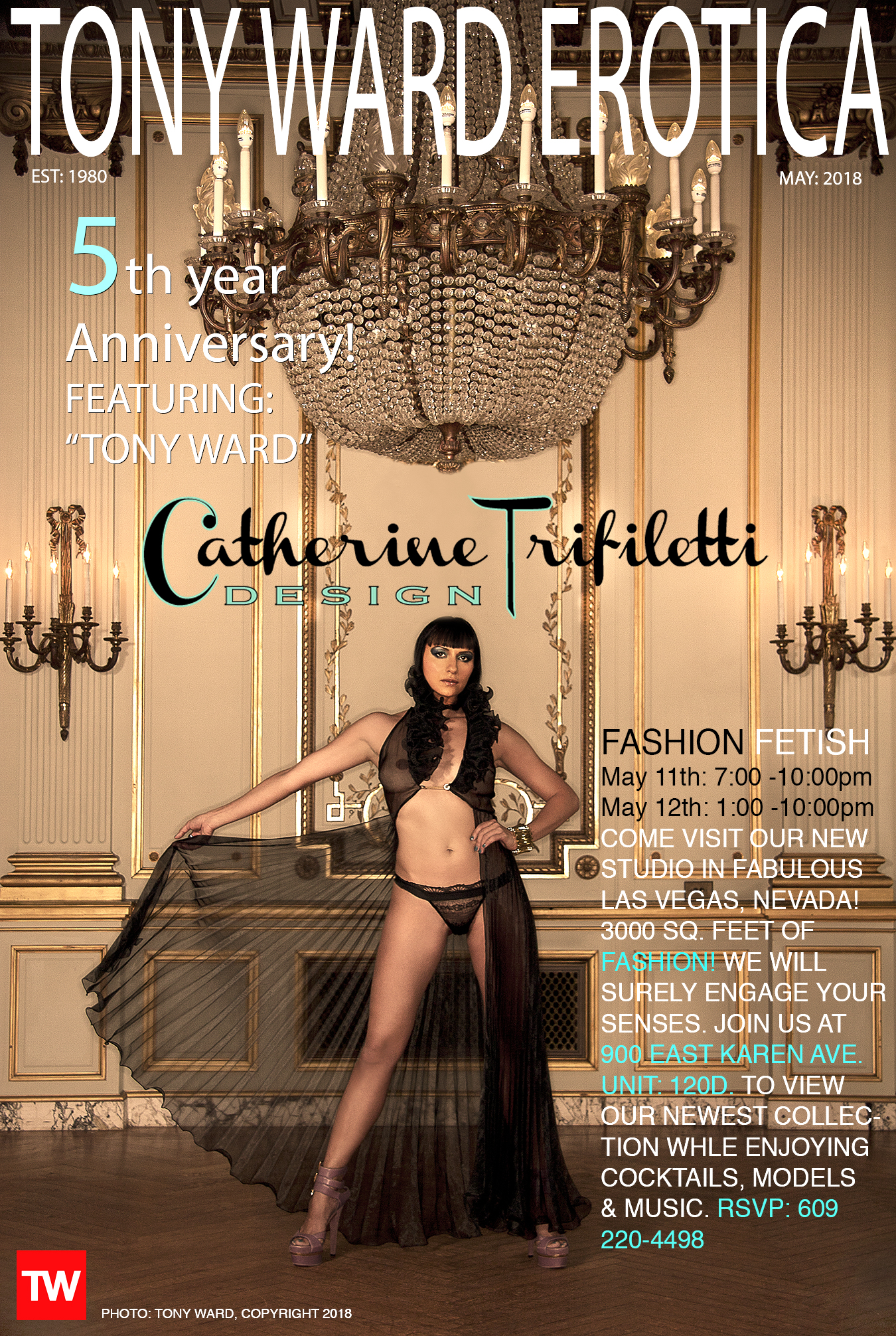 TWE COVER MAY 2O18 FEATURING CATHY TRIFILETTI