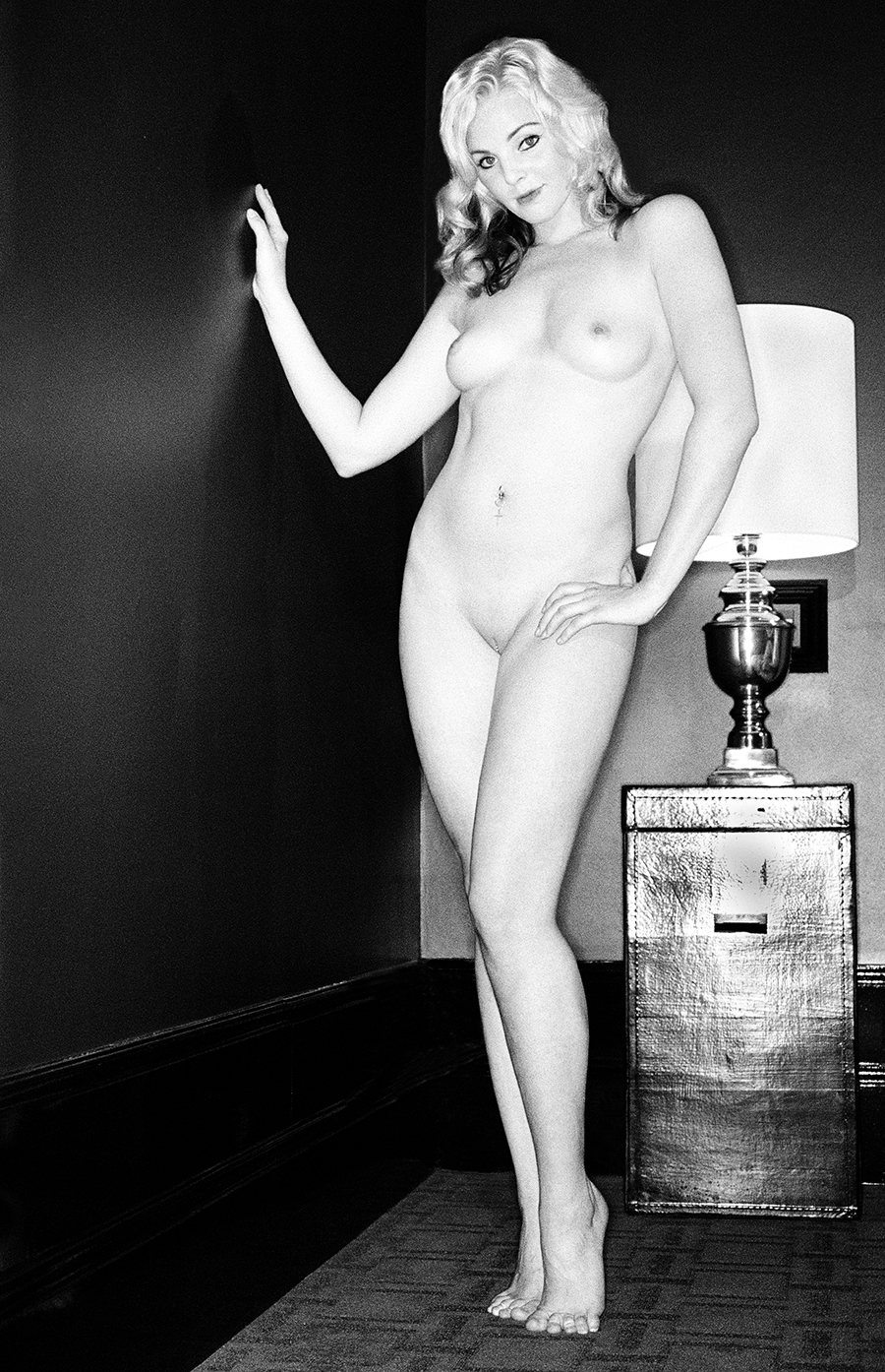 Tony_Ward_Studio_erotic_photography_Dutch_women_model_Dagmar_Amsterdam_bartender_blonde_beauty_nudity_topless_nudes_black_white