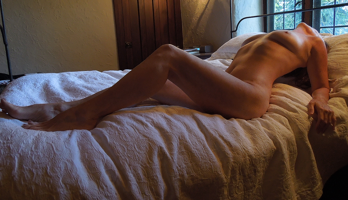 Tony_Ward_erotica_self_portraits_K_June_nudes_natural_breasts_sexy_legs_naked