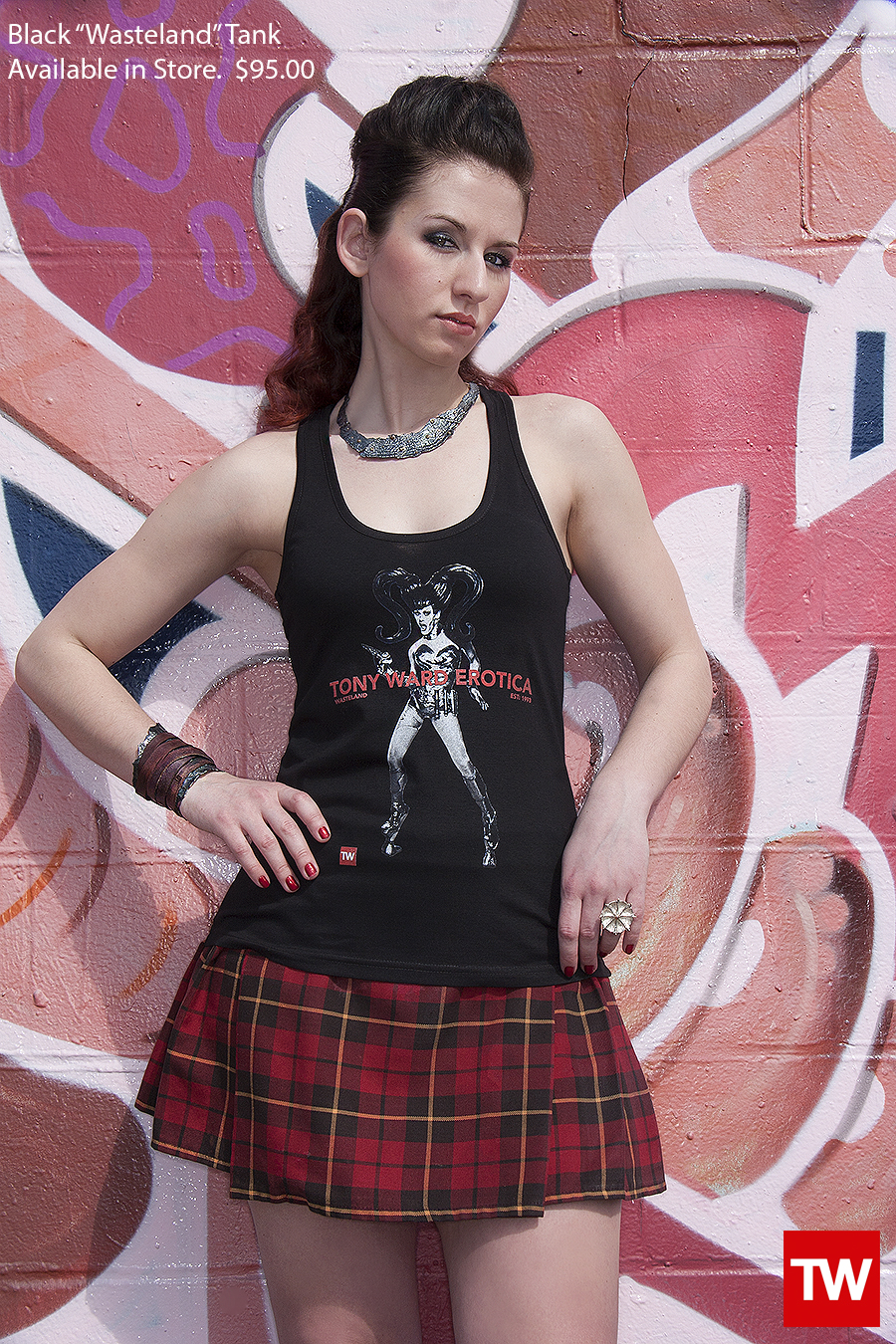 Tony_Ward_Studio_e_commerce_store_t-shirts_black_Wasteland_tank_sale_model_Julia