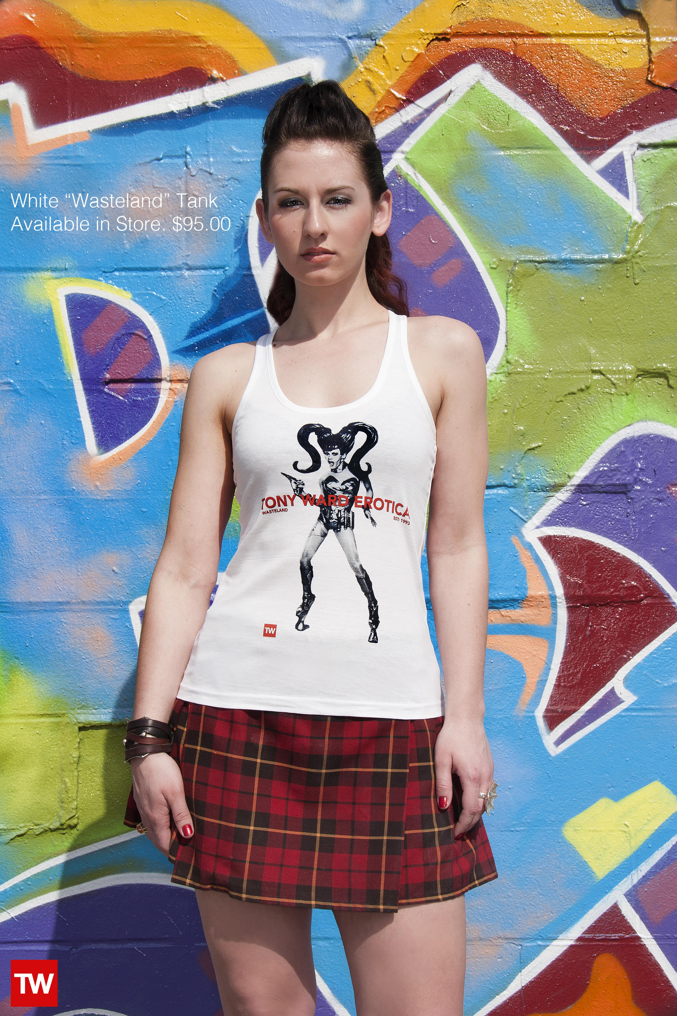 Tony_Ward_Studio_e_commerce_store_t-shirts_white_Wasteland_tank_sale_model_Julia