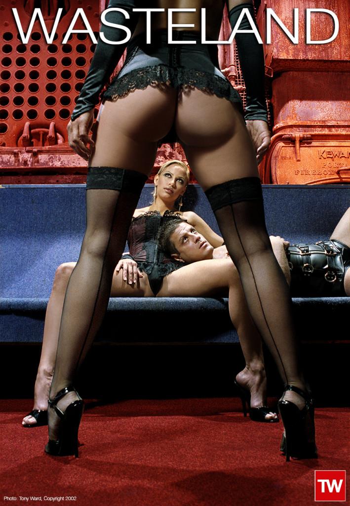 Tony_Ward_Erotic_photography_poster_wasteland_fetish_party_amsterdam