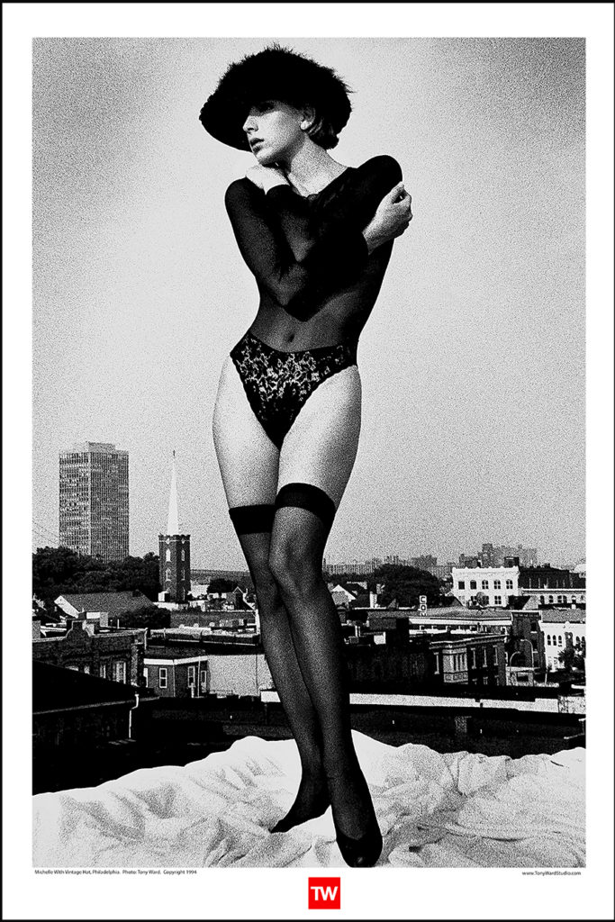 Tony_Ward_Posters_Vintage_Fashion_erotica_hats_lingerie_sexy_women_Michelle_Mallin_store