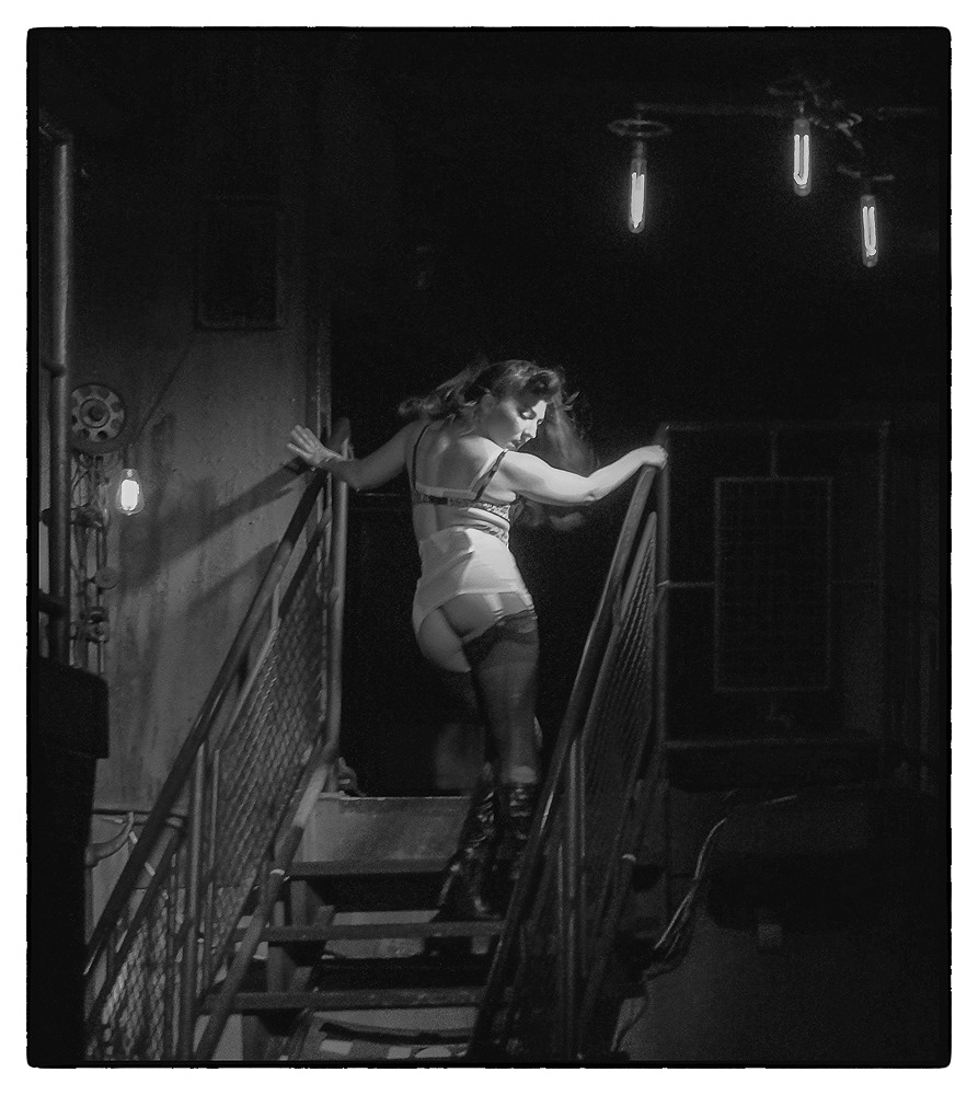 Ed_Simmons_photography_Los_Angeles_strip_club_stairs