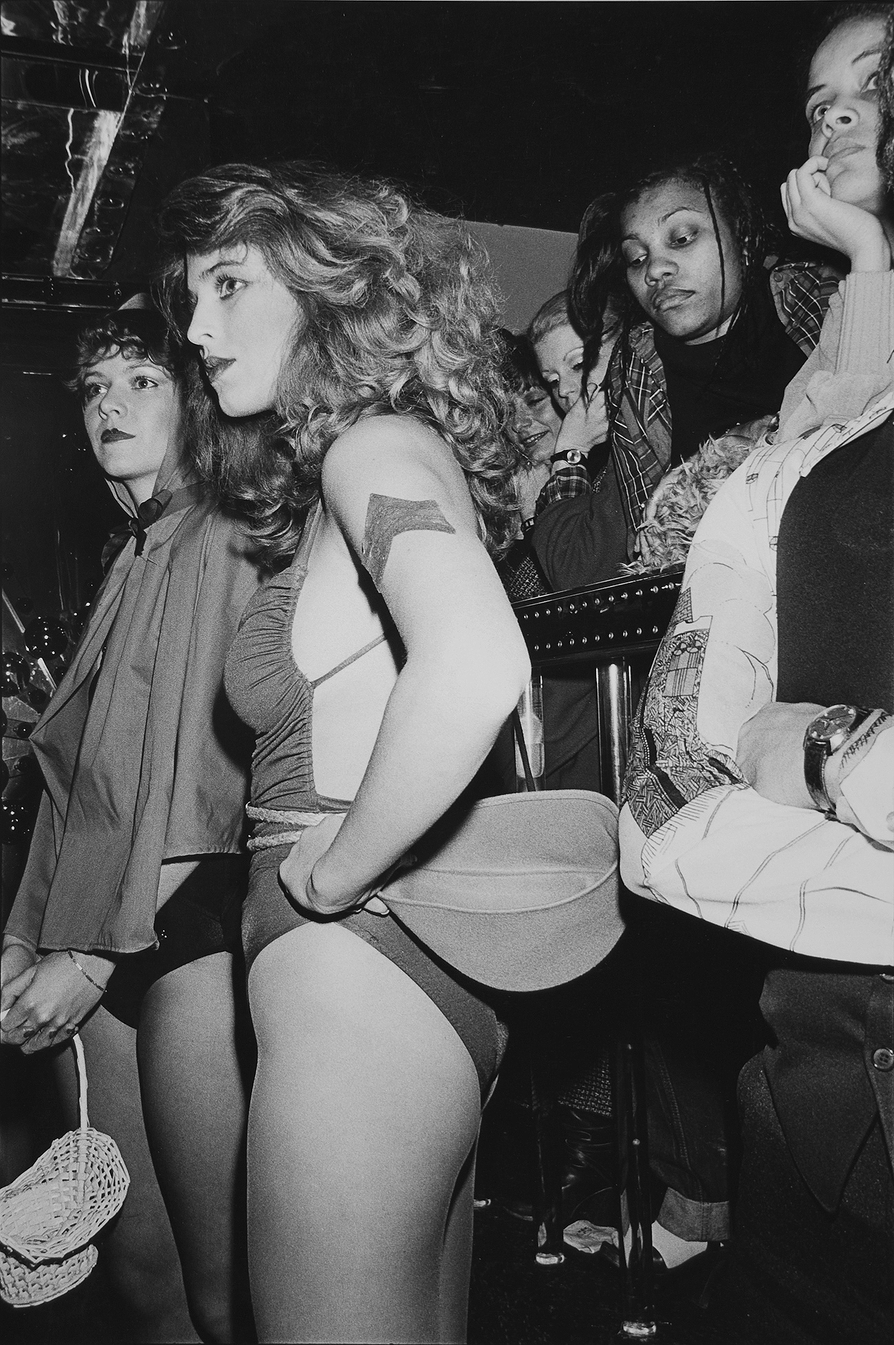 Tony_Ward_photography_early_work_Night_Fever_portfolio_1970's_erotic_dirty_dancing_couples_grinding_fashion_show
